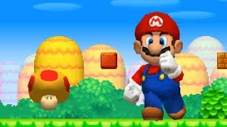 New Super Mario Bros DS Walkthrough - Part 1 - World 1