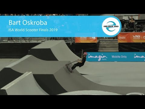 Bart Oskroba - ISA Men's World Scooter Semi Finals 2019