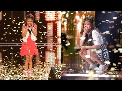 ❤️ ANGELICA HALE - All Performances | AGT 2017 and AGT: The Champions | Double Golden Buzzer! 1080p (видео)