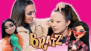 Turning Each Other into BRATZ DOLLS - Merrell Twins