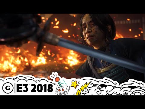 Ghost of Tsushima's Combat and World Explained | E3 2018