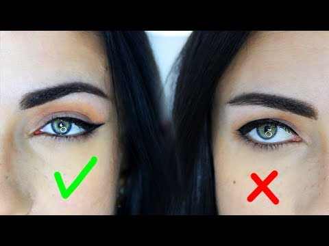 Eyeliner For Droopy Downturned Eyes | Common Mistakes | Do's And Don'ts | MakeupAndArtFreak