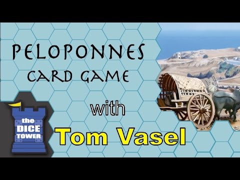 Dice Tower Reviews: Peloponnes Card Game