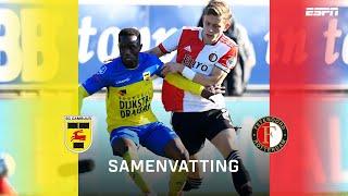 Volop spektakel en goals bij Feyenoord tegen Cambuur ? | Samenvatting SC Cambuur - Feyenoord