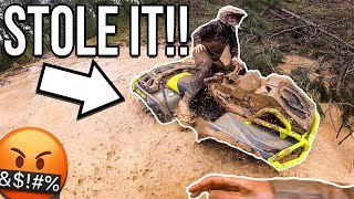 He Stole My FOUR WHEELER! HAD TO FIGHT FOR IT BACK!