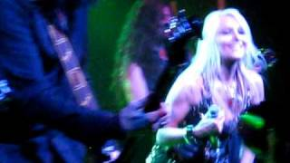 DORO PESCH - Live in Vienna, 02. November 2009 - 'burning the witches'