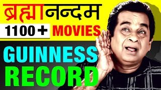 1100 ➕ Movie Guinness World Record   Brahmanandam Biography In Hindi   Success Story   Comedian