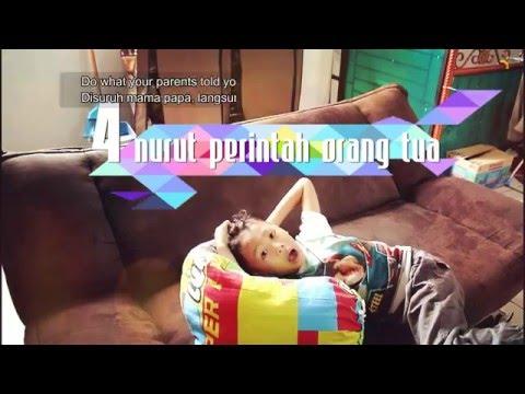 Video 8 ciri anak hebat dan pintar di rumah. Tugas ringan anak baik bertanggung jawab