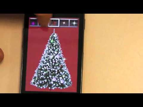 Video of Free Pocket Christmas Tree LWP