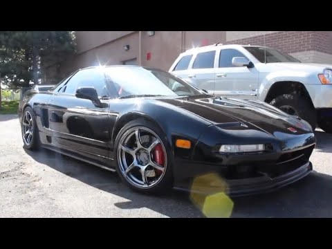 Acura NSX on RG3 Advan wheels Staggered 17in Front  & 18in Rear // Perfect Wheel Fitment Guide