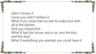 Charlie Wilson - What If I'm the One Lyrics