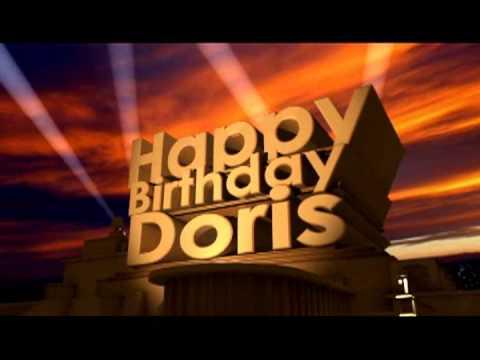 Birthday Cake For Doris