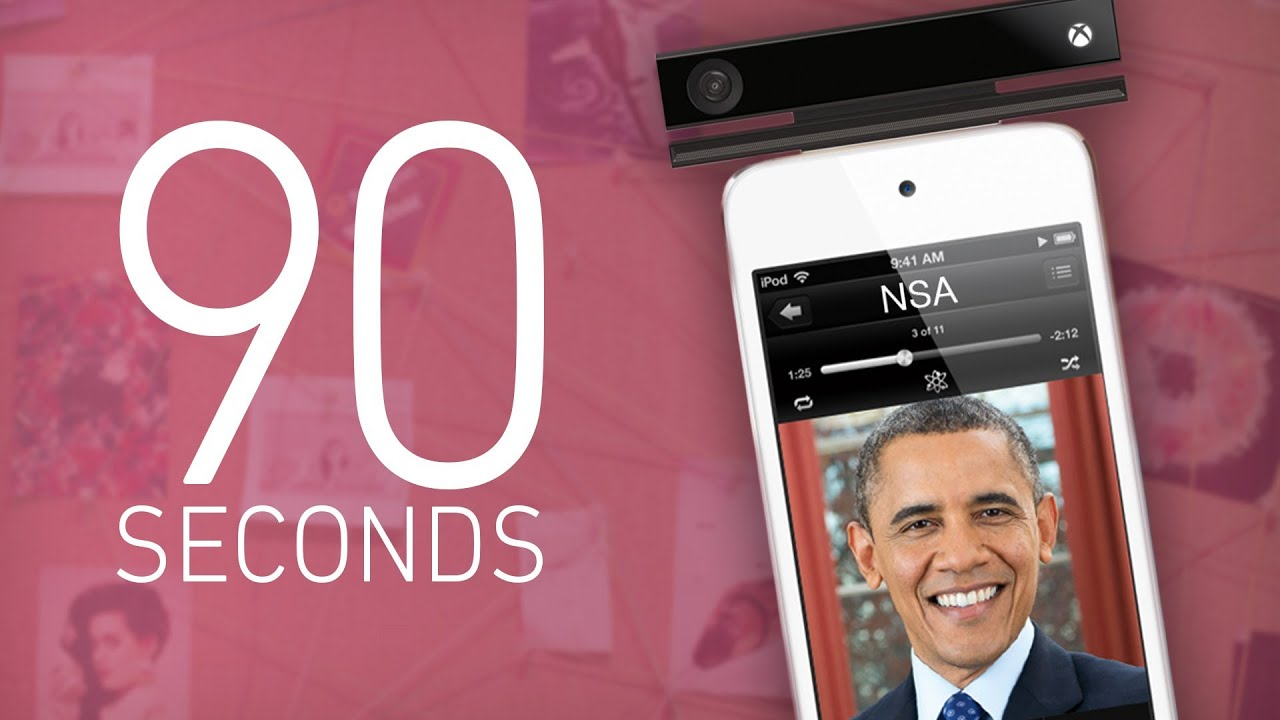 PRISM, Obama, Xbox One, and iRadio - 90 Seconds on The Verge thumbnail
