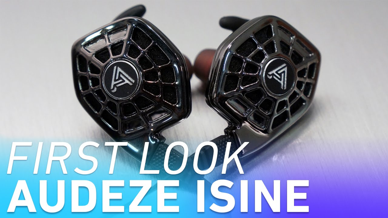 Audeze iSine 10: the world's first in-ear planar magnetic headphones thumbnail