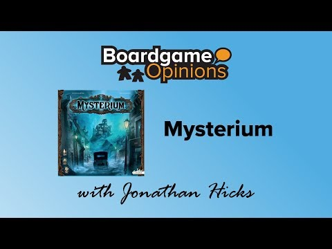 Boardgame Opinions: Mysterium