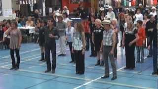 Country Road avec Kate Sala dansant sur sa propre choré, bal country samedi 24 mars (Arizona Kid)