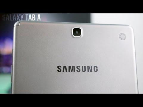 """Samsung 9.7"""" Galaxy Tab A Tablet (16GB, White) SM-T550"""