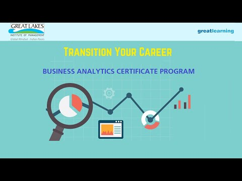 Great Learning Business Analytics Certificate Program: Build a ...
