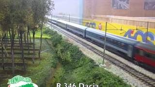 preview picture of video 'Il Treno nelle Dolomiti 2014 (Longarone) - Fermodel Club'