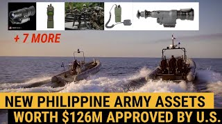 NEW Philippine Army assets worth $126M approved by U.S.