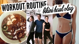 Getting Back Into A Workout Routine + Bikini Haul Try On | Mel Weekly #78