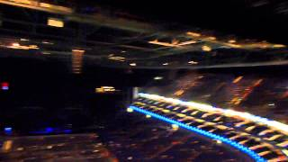View from Level 4 of the o2 arena (block 411)