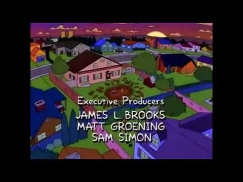 """Martin and Frank Sinatra Singing """"The Summer Wind"""" - The Simpsons"""