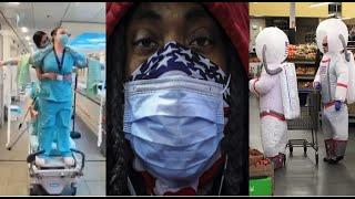 O pandemii absurdu, ignorancji, apatii i groteski