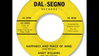 Andy Williams And The Zodiacs - Happiness And Peace Of Mind 1966