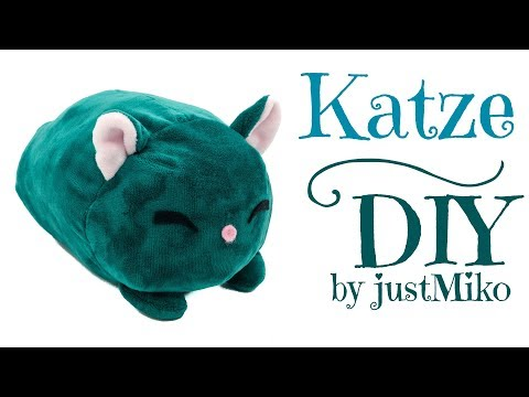 Plüsch Katze nähen 🐱 *Do it Yourself* | kawaii | Verlosung