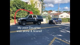 COP MAKES ME GET OUT OF THE CAR IN FRONT OF MY DAUGHTER!