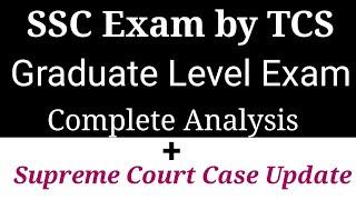 SELECTION POST GRADUATE LEVEL EXAM  SupremeCourt CASE UPDATE