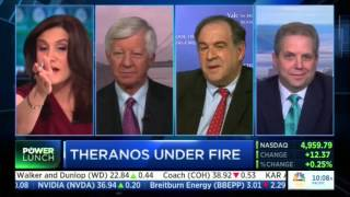 CNBC - Bill George: Theranos under fire