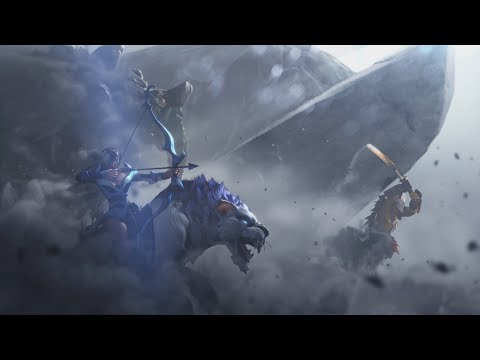 DOTA 2 official game trailer