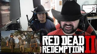 Red Dead Redemption II Gameplay - Angry Trailer Reaction!