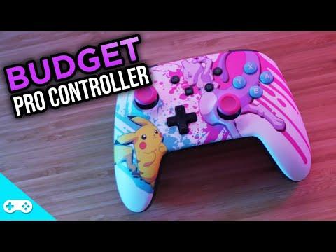 Budget Switch Pro Controller! - Power A Enhanced Wireless Controller
