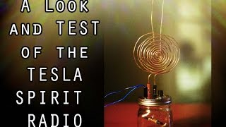 The Tesla Spirit Radio - Full Spirit Communication Test