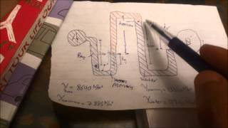 How to calculate pressure in Manometers