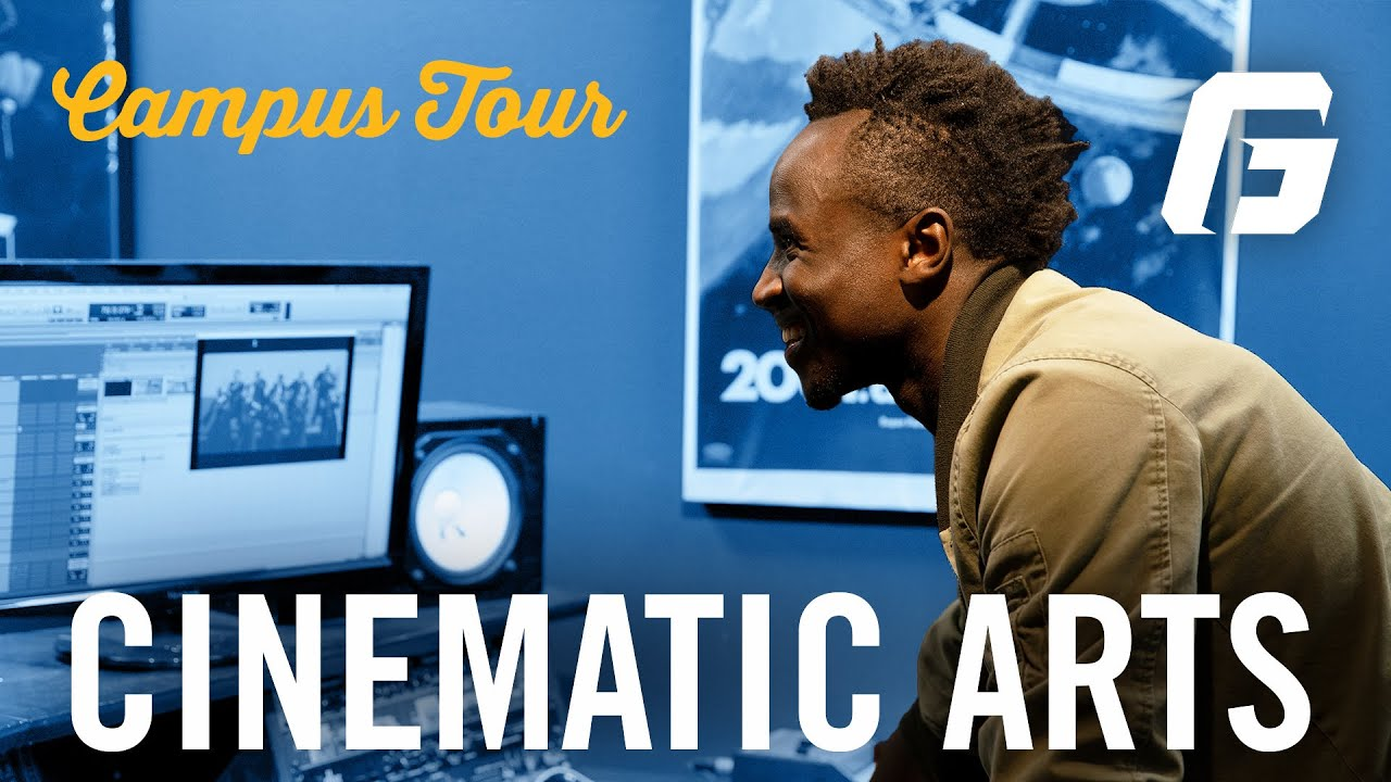 Watch video: Campus Tour: Cinematic Arts Department | George Fox University