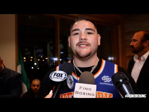 """ANDY RUIZ: """"WHATEVER I THROW IS GOING TO LAND ON JOSHUA"""" + CUTTING OF THE RING WILL BE KEY"""