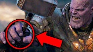 Avengers Endgame Thanos Battle NEW EASTER EGGS Revealed!