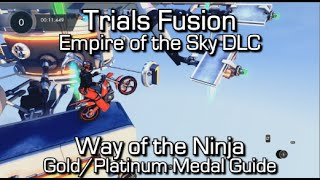 Trials Fusion - Way of the Machine Gold Medal Guide - Empire of the Sky DLC - Hardest DLC Track