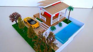 Miniature Dollhouse    Do it yourself