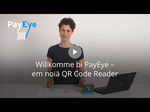 Crealogix Payeye + Dockingstation (Scanner only, QR-Code)