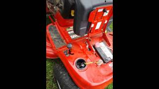 Solution for: troy built pony riding mower will not crank