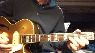 How to play Johnny Burnette Lonesome Tears in my Eyes Guitar Solo and Chords Grady Martin