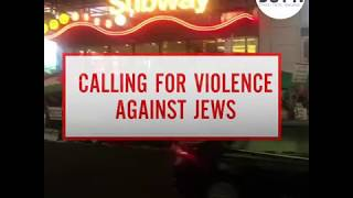 Anti-Semitism in NY's Times Square