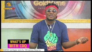 WHATS UP WITH CDQ: HE WEIGHS IN ON WIZKID AND DAVIDO, 9ICE AND FALZ ISSUES