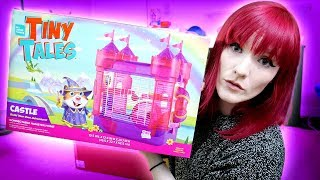 Bad Cage Unboxing Review | Tiny Tales Castle Cage | Munchies Place