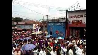 preview picture of video 'Semana Santa: Viernes Santo en San Marcos,San Salvador.Vía Crucis 2012'